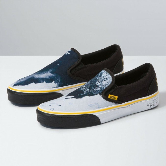 TÊNIS SLIP-ON NATIONAL GEOGRAPHIC