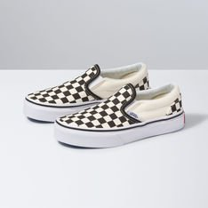 TÊNIS SLIP-ON CHECKERBOARD INFANTIL