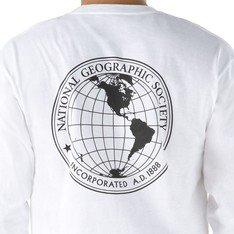 Camiseta Vans x Nat Geo Globe