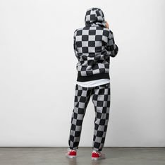 MOLETOM CHECKER JACQUARD PO