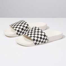 CHINELO SLIDE-ON CHECKERBOARD
